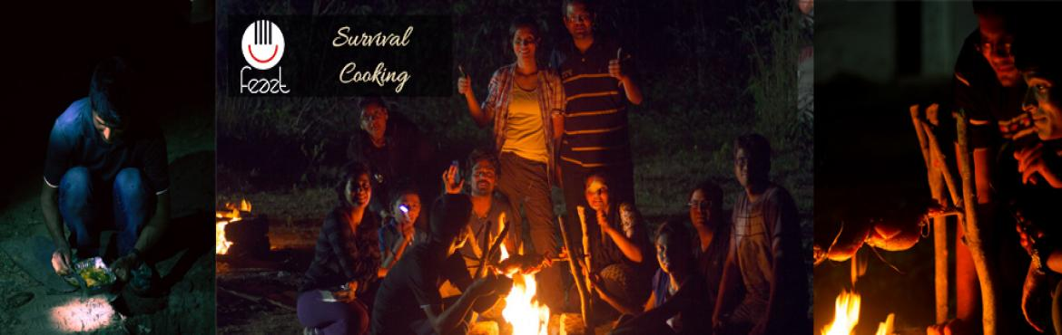Book Online Tickets for Survival Cooking at Pocharam Lake, Mirgudpall. Cooking with very limited resources is an art. Many times, we see people shoot the survival conditions, what they do, what they eat and how they survive. What are we going to do? (Everything in survival mode) 1. Heating an egg.2. Making tea - this on