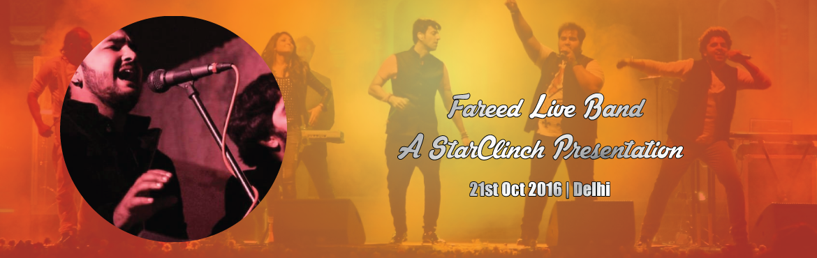 Book Online Tickets for Fareed Live Band  A StarClinch Presentat, NewDelhi. Fitoor is a fusion, folk, rock, Sufi, and experimental band that has reinvented Sufi sound and has taken it to a whole new level. The band has performed at various pubs, festivals and also some corporate shows. Now you can check artist profile @