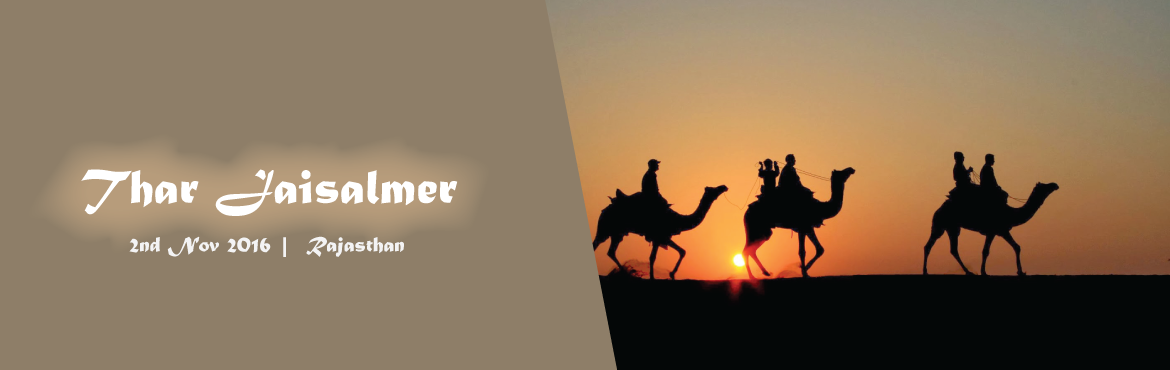 Book Online Tickets for Thar Jaisalmer , Jaisalmer. Thar jaisalmer is very new music event which is organized at 40 K.M far from Jaisalmer town in desert. In this music event we are going to promote a local manganiyar songs with gypsy dance and some other culture activites. With this all thing we will
