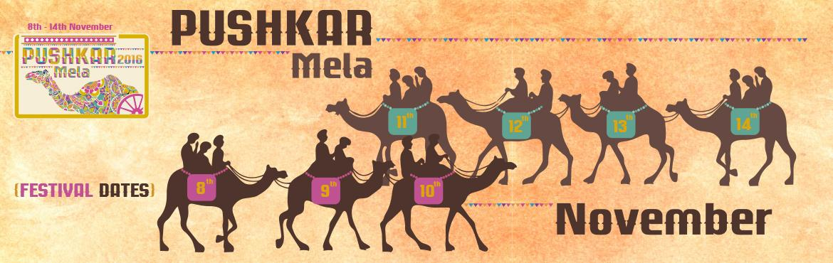 Book Online Tickets for Pushkar Mela 2016, Pushkar. The sprawling annual festivities of the 100 year old Pushkar Mela through its dramatic collage of diversified pictures, mirrors the vibrancy of the gracious state of Rajasthan. It is celebrated for five days from the Kartik ekadashi to Kartik Po