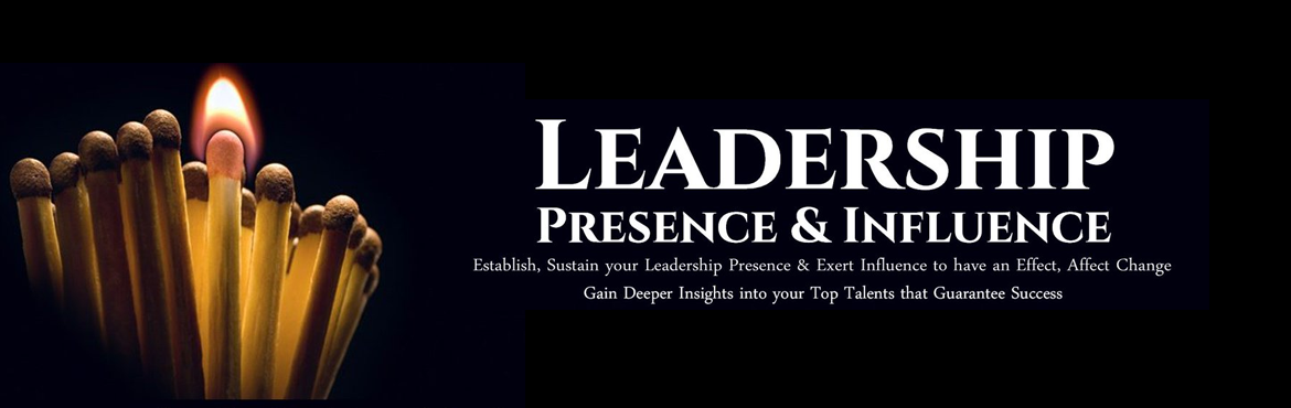 Book Online Tickets for Leadership Presence and Influence - Two , Bengaluru. People are drawn to and influenced by leaders, managers, business persons who connect, communicate, connect, impact people. This two day workshop on presence and influence will enable and empower participants to excel in all leadership communication