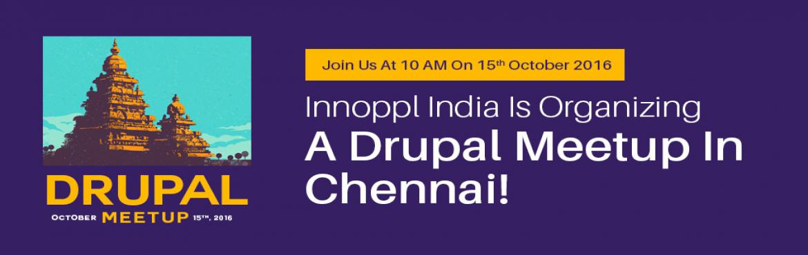 Book Online Tickets for Drupal Meetup At Innoppl Chennai , Chennai. Innoppl India is an information technology firm that specializes in building beautiful mobile and web applications for public, private and nonprofit entities in various sectors. Join us as we discuss the latest developments in Drupal, the pros a