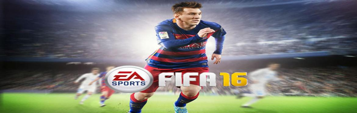 Book Online Tickets for FIFA 16 PS4 TOURNAMENT 5 NOV 2016  Ultim, Noida.  FIFA 16 Gamers are invited to participate in online gaming tournaments at Utlimate Battle. FIFA 16 tournaments can be played on all popular gaming consoles PS4, PS3, Xbox one Xbox 360. Know more:- http://www.ultimatebattle.in/tournament/fifa-16
