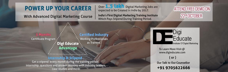 Free Demo on Advance Digital Marketing With Internship
