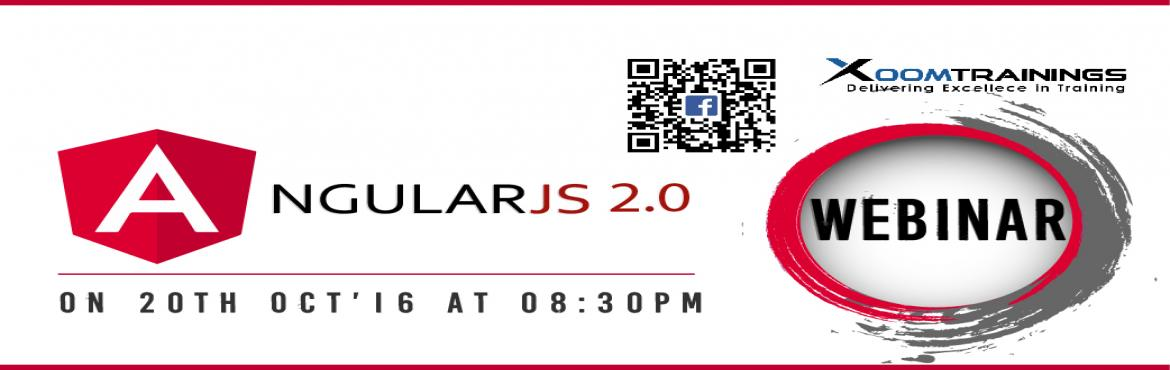 Book Online Tickets for Angular JS webinar, Hyderabad. Who can join Angular Beginners,1+ year experience in HTML,CSS,JAVA Prerequisites and Equipment Students should have experience with HTML, Java, and jQuery or another DOM manipulation library, for example by having worked in server-side web developmen