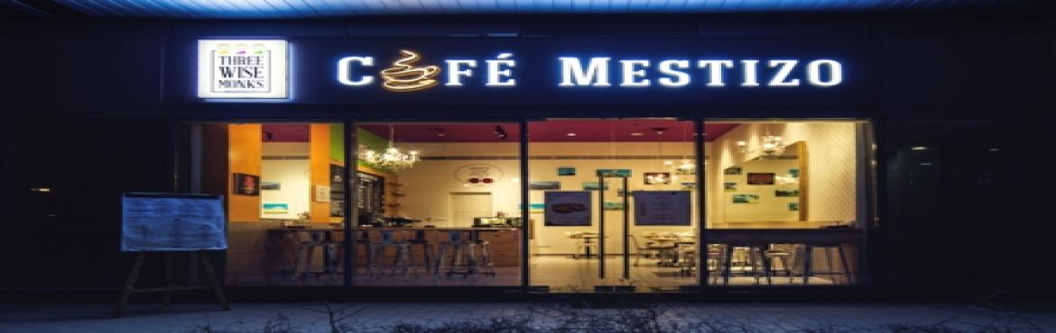 Book Online Tickets for Cafe  Mestizo introduces their new menu , Pune. Café Mestizo announced their creative new menu by Chef Deepu.With the festive season just round the corner Café Mestizo has introduced some lip smacking dishes in their newly launched menu. The menu includes dishes like The Champion\'s