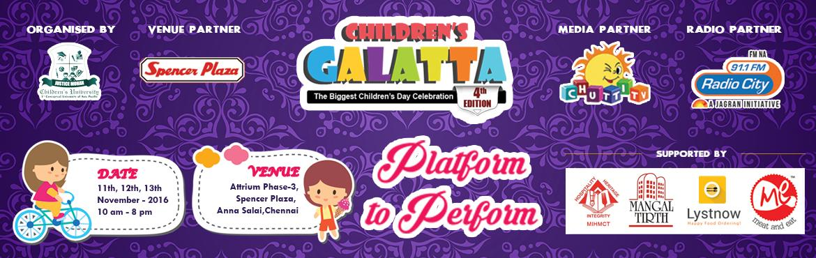 Childrens Galatta - SPOT REGISTRATION  @ Venue