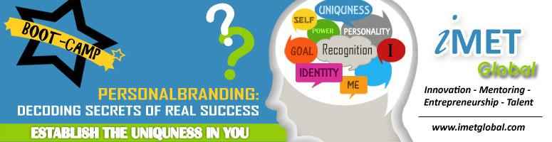 "Book Online Tickets for PERSONAL BRANDING for Success: ESTABLISH, NewDelhi. Are you really like Pink Floyd's version of Another Brick in the Wall or you actually know that your name is a brand.Do you know how to showcase your Entrepreneurial Velocity or Professional Rock Star image or ""The Man out of Men"" e"