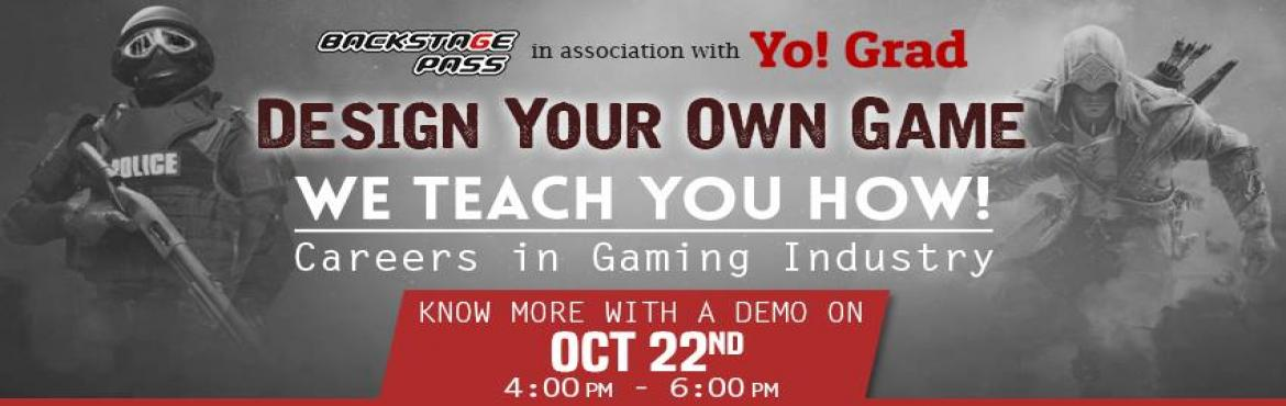 Book Online Tickets for Careers in Gaming Industry, Hyderabad. Top notch companies like Nintendo, Sony, Microsoft studios and EA sports are always on a look out for the talent that will take their gamification to the next level. Today, there are approximately 12 billion gamers all over the globe and the gam