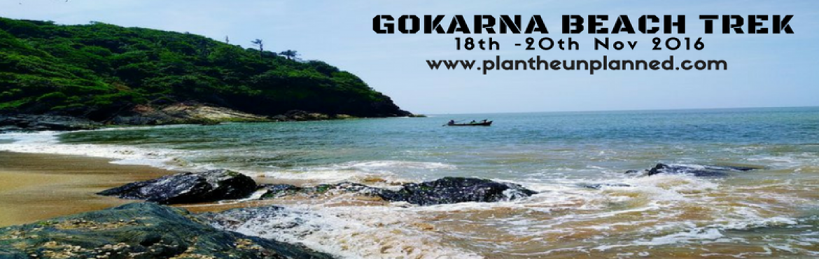 Book Online Tickets for Gokarna Beach Trek, Bengaluru. Gokarna, a temple town about 484 km's from Bangalore, is on the Western coast of India. Located in the Kumta taluk of Uttara Karnataka, the main deity is Lord Shiva, also known as Mahabhaleshwara. This temple houses what is believed to be an or