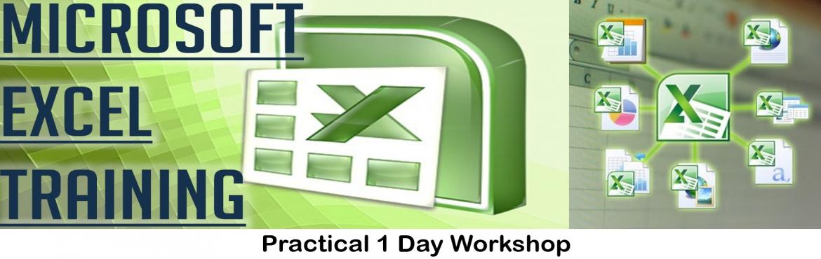 Book Online Tickets for Microsoft Excel One Day Workshop, Gurugram. Microsoft Excel is key professional tool used across our day to day routine. From managing our contact information, Personal Finance to executing complex business data solutions, Microsoft Excel helps us in managing our data very well. Attend our one