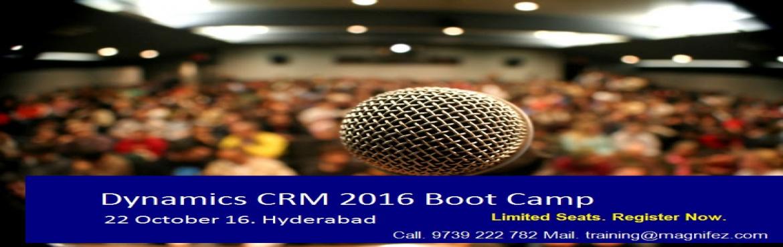 Dynamics CRM 2016 Boot Camp