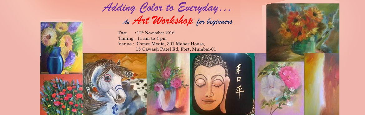 Oil Painting Workshop for beginners