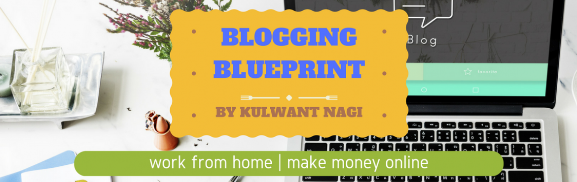 Book Online Tickets for Blogging Blueprint by Kulwant Nagi, NewDelhi. Blogging Blueprint is an event organized by Kulwant Nagi. Kulwant Nagi is the owner and founder of BloggingCage.com, a blog where you can learn how to start a blog and monetize it in a proper way. The motto behind this event is to share the know