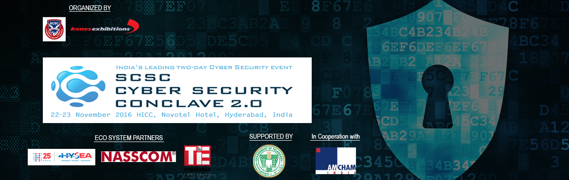 Book Online Tickets for Cyber Security Conclave 2.0, Hyderabad. This event aim to address strategic cyber issues relevant to the entire Indian industries as well the event will be a platform for showcasing a state of the art technologies on the subject. Effects of growing demands of cyber world.