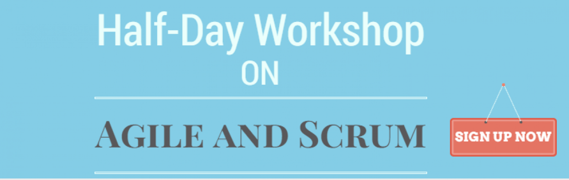 Book Online Tickets for Half-Day Introduction to Scrum / Agile W, Bengaluru. Do you want to know how Agile and Scrum can help you in improving your development process? Join our half-day workshop and know applicability of agile and scrum in you development context. The session is designed especially for people who just s