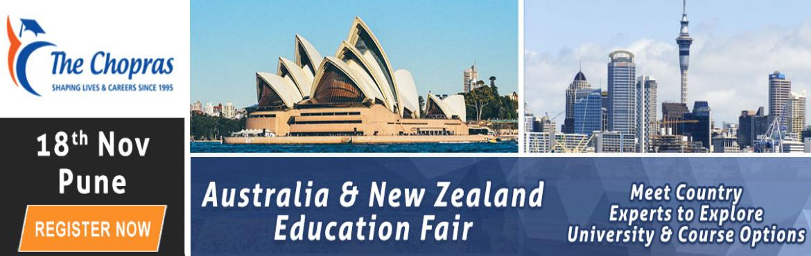 Book Online Tickets for Gear Up Pune for Australia and New Zeala, Pune. Are you planning to study abroad in Australia and New Zealand universities?  Looking for opportunities available in Australia and New Zealand? Well, this could be golden opportunities for you.  Attend this upcoming event in Pune and interact with the