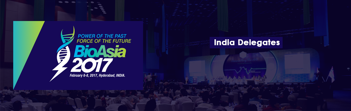 Book Online Tickets for BioAsia 2017, Hyderabad.    Over the past few years, India has seen unprecedented growth in the Life Sciences sector both as a producer of medicinal products and more recently as one of the world's most prominent market for healthcare products and services. The gr