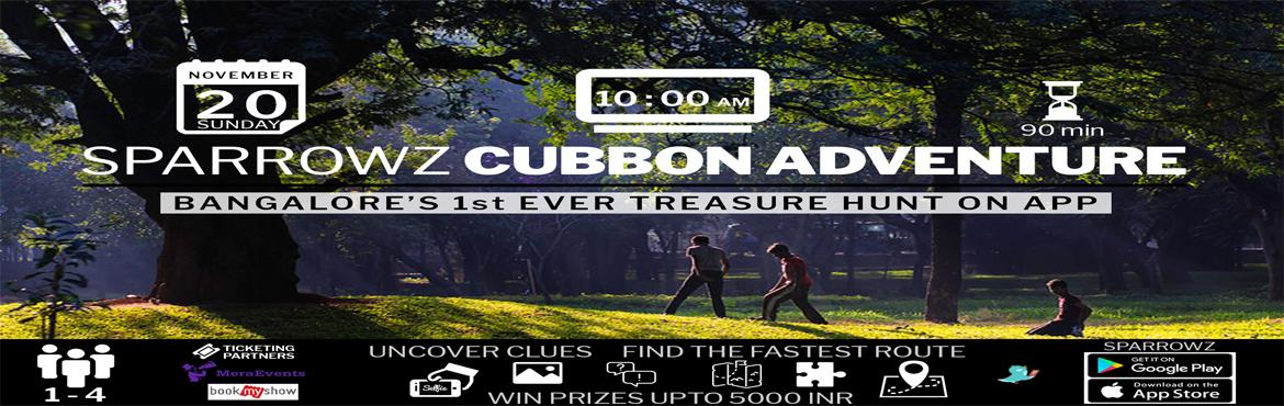 Sparrowz Cubbon Adventure