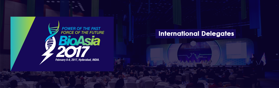 BioAsia 2017 - International Delegates
