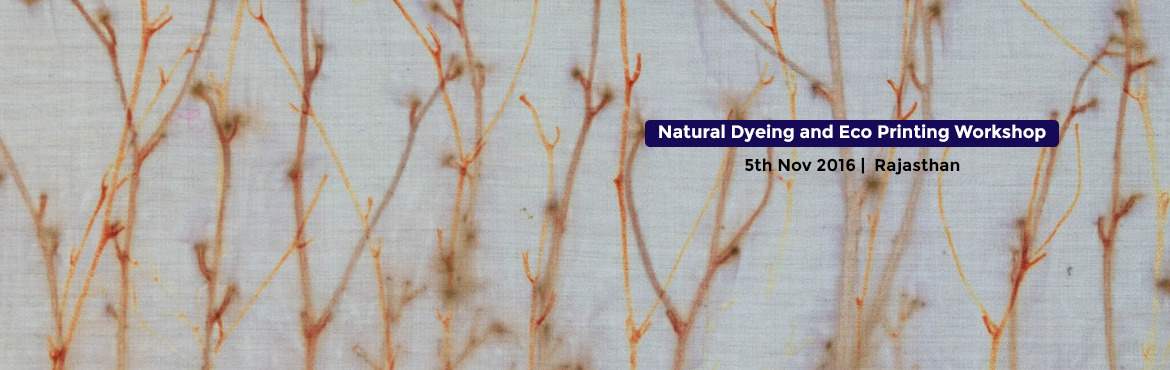 Natural Dyeing and Eco Printing Workshop