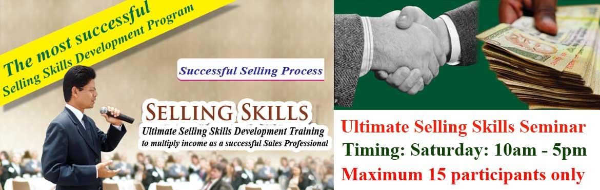 Book Online Tickets for Professional Selling Skills Development , Hyderabad. Dear Friends! Are you happy with your income as a sales professional and Business Owner? If you are serious about achieving your business goal, let\'s invest this Saturday in \'Successful Selling Skills Development Training Program\'.  Investmen