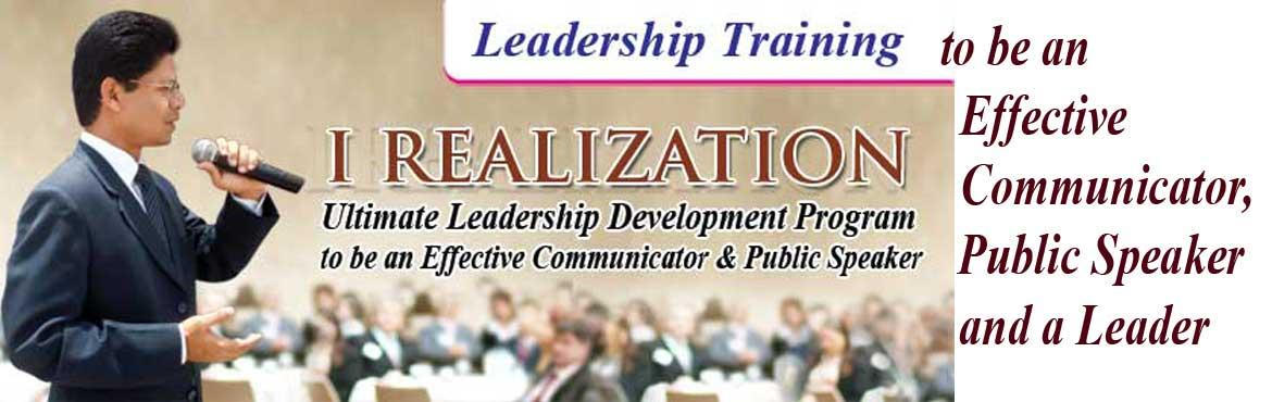 I Realization- Leadership Training to be a Confident Communicator