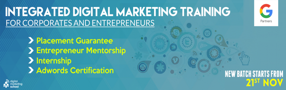 Book Online Tickets for Executive Program In Digital Marketing , Hyderabad. BECOME A CERTIFIED DIGITAL MARKETING PROFESSIONAL  Executive Program In Digital Marketing EPDM course is taught by real-world experts and covers a range of critical topics, helping you to expand your expertise and get on the fast tr