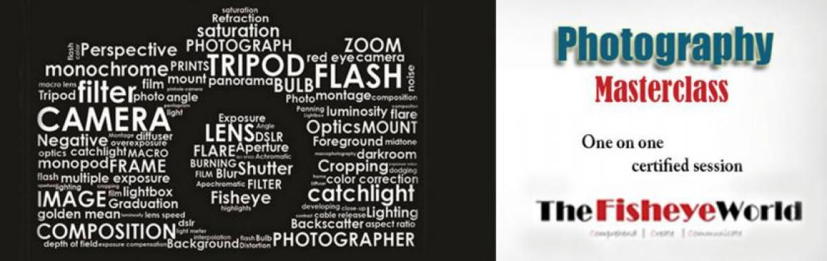 Photography Master Class One on One Session - Vashi