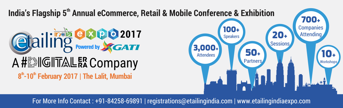 eTailing India Expo Mumbai 2017