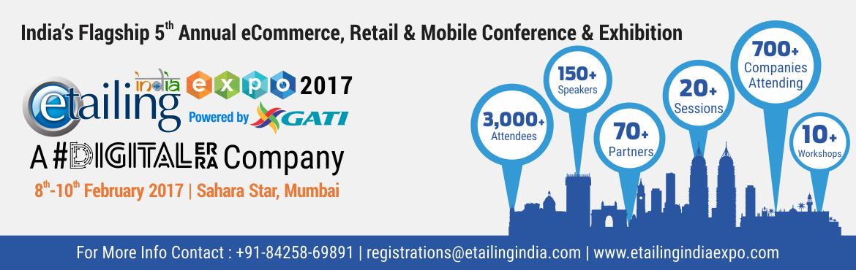eTailing India Expo Mumbai 2017