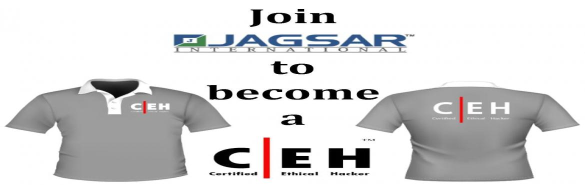 Book Online Tickets for CEH-V9 Training /Certification By JAGSAR, Hyderabad. ​ ​ Dear All Greeting from JAGSAR International-Fastest Growing Global Corporate Training\'s Company with Highest Customer Satisfaction Percentage. !!! We would like to Invite you for Expert Training and Certification on EC-Co