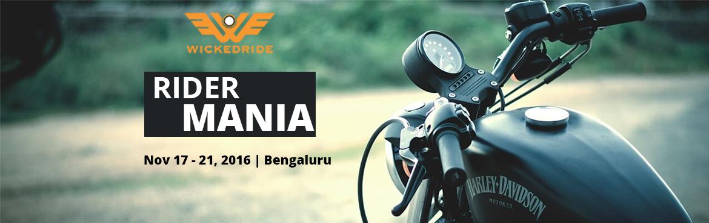 Rider Mania, Goa 2016 - Wicked Ride