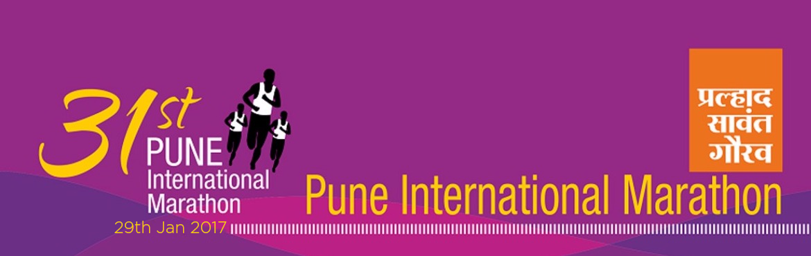 Book Online Tickets for Pune International Marathon 2016, Pune.    31st Pune International Marathon 2016 is India\'s premium Marathon event, Since 1983, thousands of runners from all walks of life had taken part in the event. Pune International Marathon is now widely used as a platform to spread social message an