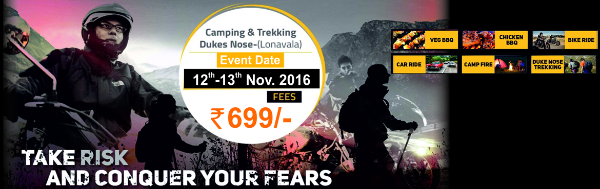 Book Online Tickets for Bike Ride and Camping Event, Kurvande.  The Trekker In presents bike ride and camping near Lonavala on 12th November 2016 Details of the event & itinerary shall be shared with registered participants. Event Start: 12th Nov 2016, 20:00 hrs (Pune/Mumbai) Event End: 13th Nov 2016, 11:00