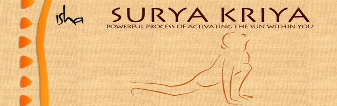 Surya Kriya - 25th to 27th Nov 2016 Goregaon