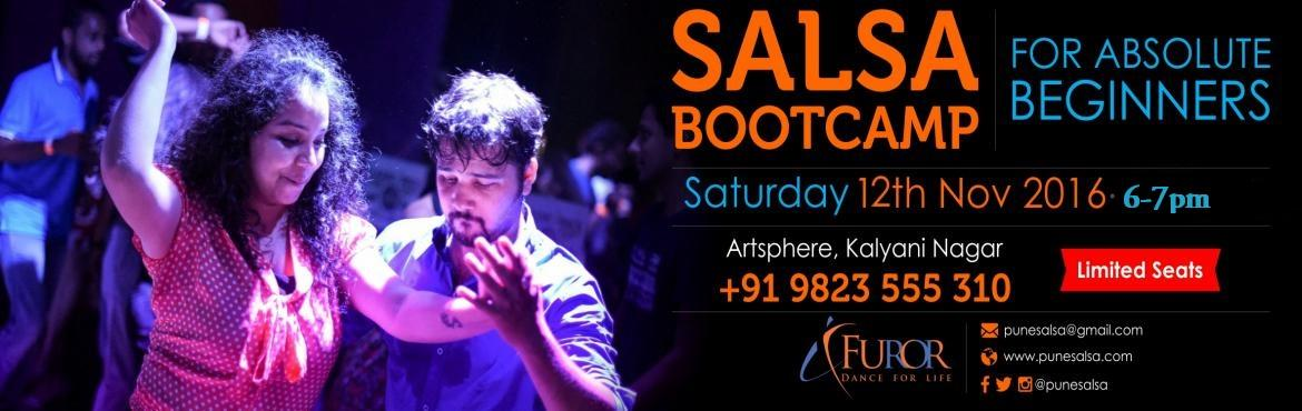 Book Online Tickets for SALSA Bootcamp For  BEGINNERS BY FUROR_1, Pune. It is THE MOST fun packed, fast and effecient way to start dancing salsa .....   ----------------------------------------------------- Every two months FUROR pune  dedicates an hour (or more :p)  to getting your feet grooving to the rh