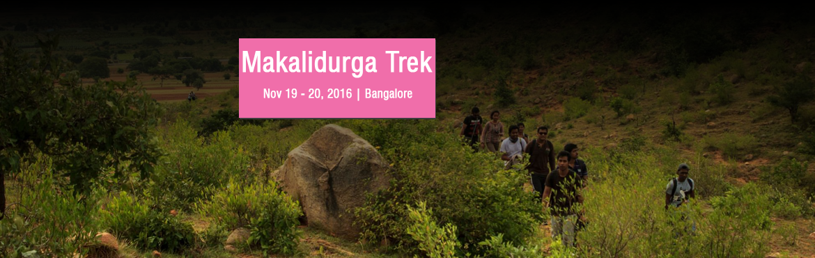 Book Online Tickets for Makalidurga Trek , Bengaluru. Makalidurga is the amazing place for the trekking activities. Adventure Nest team conduct trekking in Makalidurga every weekend. And also they have been conducting mountain biking, paintball, hiking, ice breakers, indoor and out doors games.  Ev