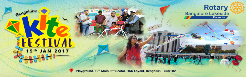 Bengaluru Kite Festival - 2017