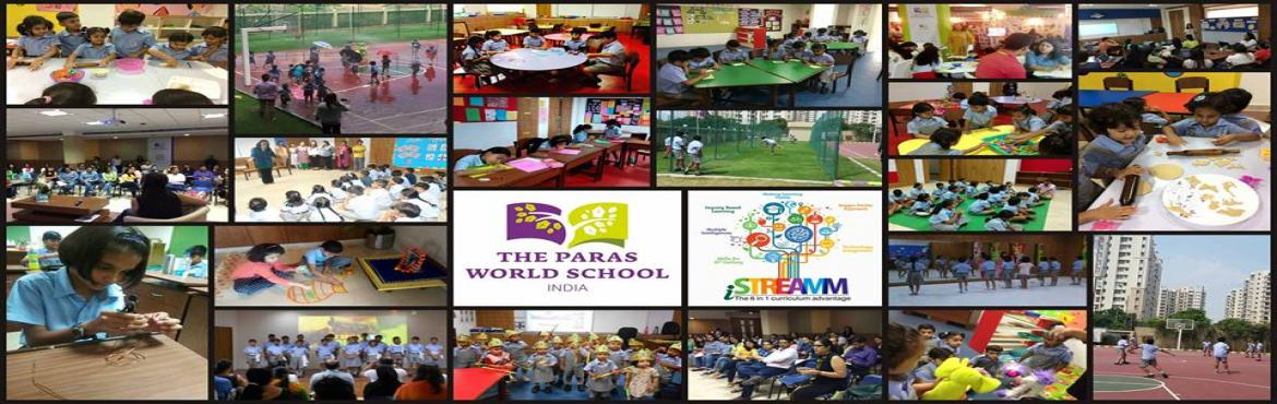 Book Online Tickets for Straight Talk - The Paras World School, Gurugram. WHATS NEW IN TEACHING / LEARNING GLOBAL METHODOLOGIES ?   The Paras World Schoolbrings to you the benefits and features of their unique approach to delivery of the time-tested CBSE Curriculum \