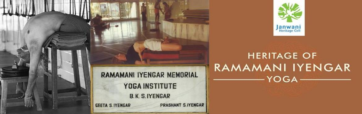 Book Online Tickets for  Visit to experience the Heritage of Iye, Pune. The Ramamani Iyengar Memorial Yoga Institute is the heart and soul of Iyengar Yoga. Its founder B.K.S. Iyengar, was considered one of the foremost yoga teachers in the world. He chose Pune to establish this institute in 1975. He was a strong supporte