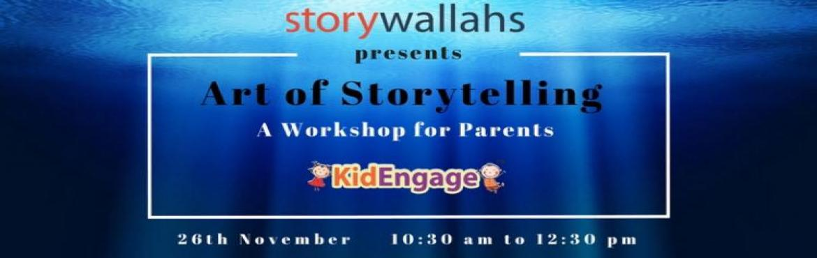 Book Online Tickets for Storytelling - A parenting tool - by Sto, Hyderabad. Stories, we believe are wisdom disguised as entertainment and fun. Through stories we can guide, teach, pass family values, traditions without being preachy. As parents you may wonder why, what and how should you tell stories to your child?This works