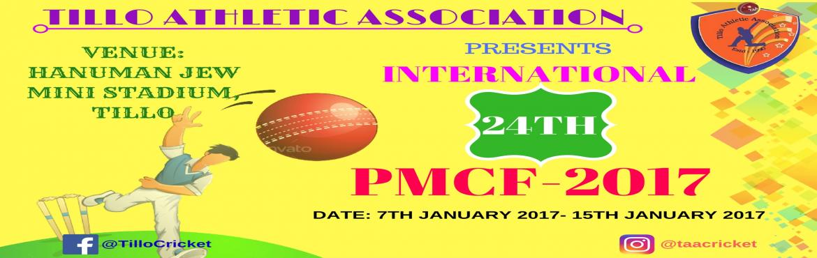 INTERNATIONAL 24TH PRADIP MEMORIAL CRICKET FESTIVAL-2017