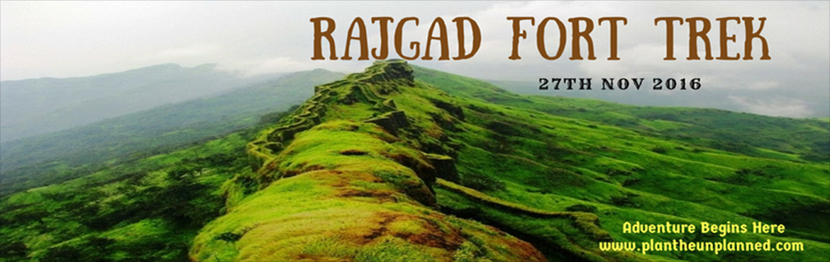 Book Online Tickets for Rajgad Fort Trek with Plan The Unplanned, Pune. Rajgad, the grand Royal Fort is one of the forts in Pune, Maharashtra. The fort is around 1,400 m (4,600 ft) above sea level. Formerly known as Murumbdev, it was the capital of the Maratha Empire during the rule of Chhatrapati Shivaji Maharaj for alm