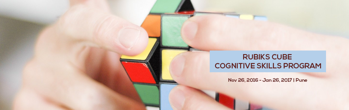 Book Online Tickets for RUBIKS CUBE COGNITIVE SKILLS PROGRAM, Pune. Teenzclap presents Rubik\'s Cube Cognitive skills program for enhancing Spatial Intelligence. Rubik\'s Cube is the world\'s most solved puzzle.  It helps in improving: 1. Information grasping, retaining and processing ability 2. Sharpness in Puzzle S