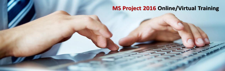 MS Project (MSP) 2016 online training Dec 2016 Thiruvananthapuram