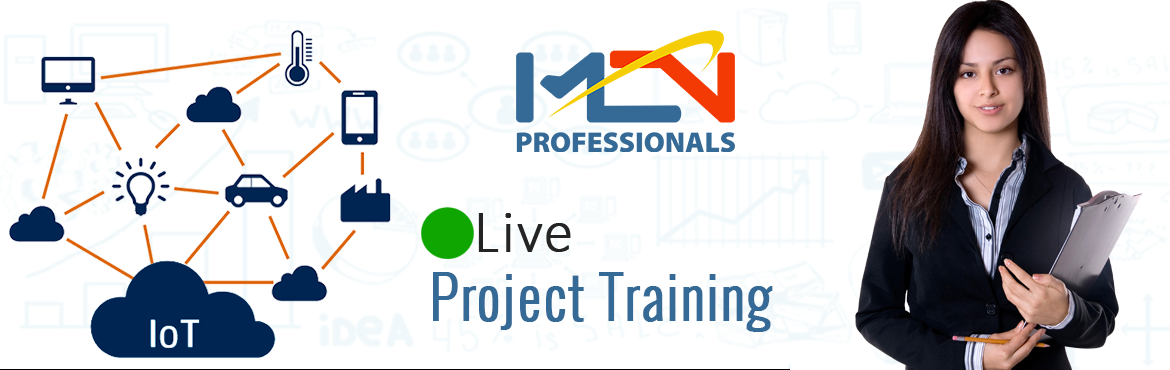 Book Online Tickets for Live Project Training On IoT , Noida. Introduction to IoT  Definition and Characteristic of IoT Things in IoT IoT Protocols Logical Design of IoT IoT Enabling Technologies IoT Levels & Deployment Templates IoT Security  What is IOT Technology?Understanding IOT TechnologyWays to use I