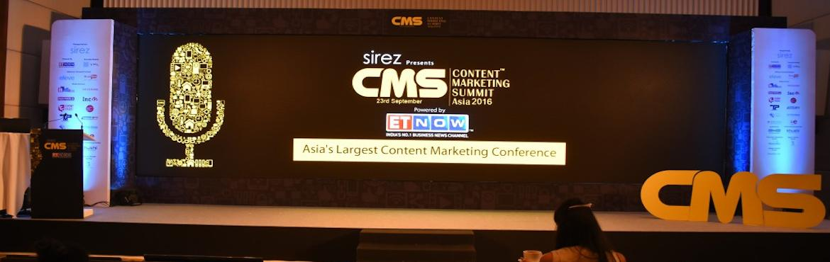 Content Marketing Summit Asia 2017