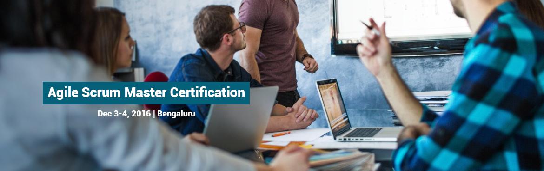 Agile Scrum Master Certification Training in Bangalore.