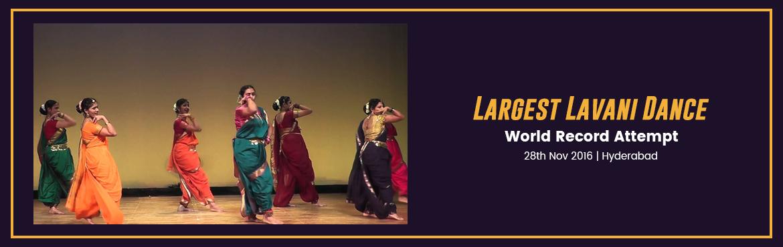 Largest Lavani Dance in Hyderabad